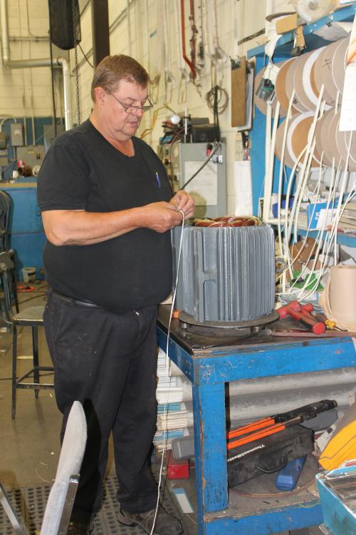 Motor shop repair
